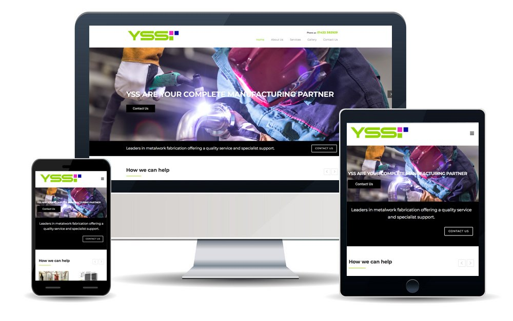 Yss Screens Website
