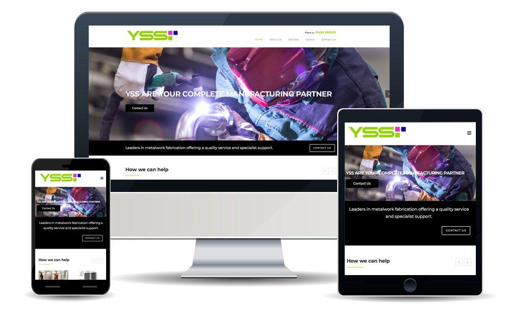 Yss Screens Website